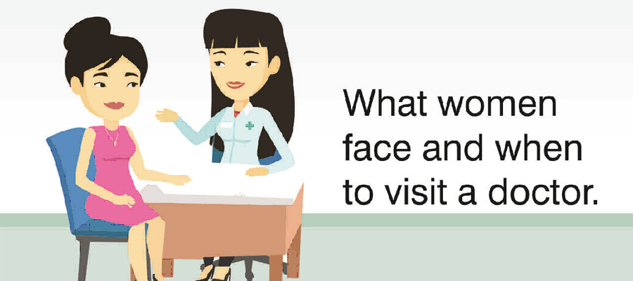 photo-What women face and when to visit a doctor
